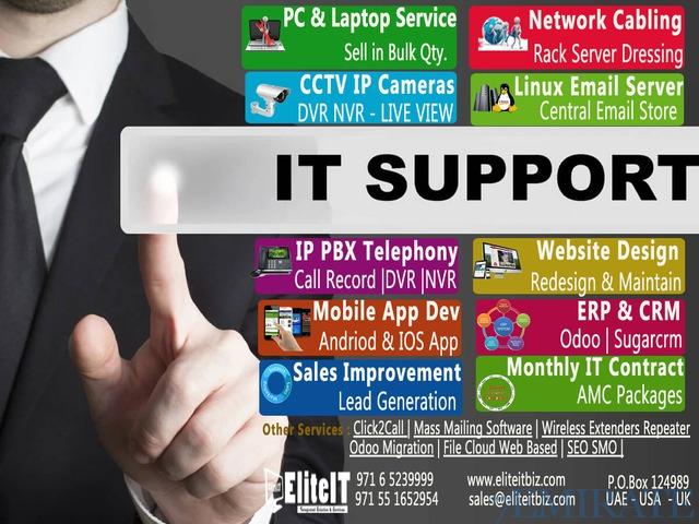 Best Annual IT Maintenance & Support Contract (AMC) Dubai Sharjah