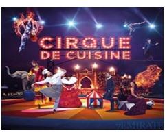 CIRQUE DE CUISINE 18 MAY TICKETS FOR SALE IN DUBAI
