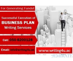 For Generating Funds! 0508200128 Business Plan Writing Services in UAE