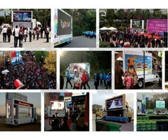 Advertising for Events using Mobile LED Screen