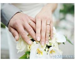 Seeking unmarried or divorced educated groom