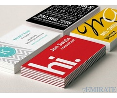 Business cards at Special Price 1000 cards for Aed 99