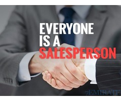 Required sale representative for group of Companies