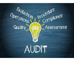 Required Auditor for Construction Company in Dubai