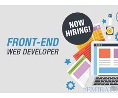 Web Developer urgently needed in Dubai