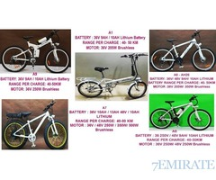 ELECTRIC BICYCLE / ALSO FOR MANUAL