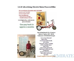 LED ADVERTISING BIKE