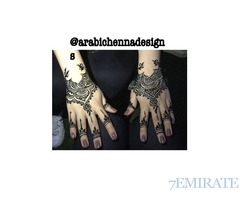 Henna home service for eid 2k17