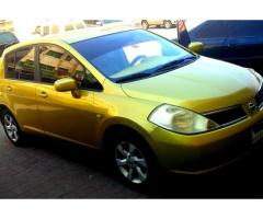 NISSAN TIIDA 2006 for Sale in Fujairah