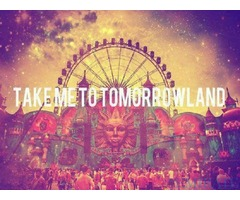 Tomorrowland 2017 Tickets for Weekend 1 Pass & Hotel