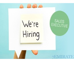 Sales Executive Required for Advertising Company in Dubai