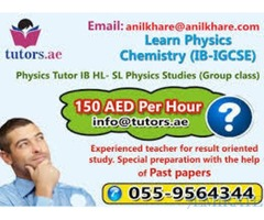 055-9564344 Physics and Chemistry Class 150AED Per Hour in Dubai