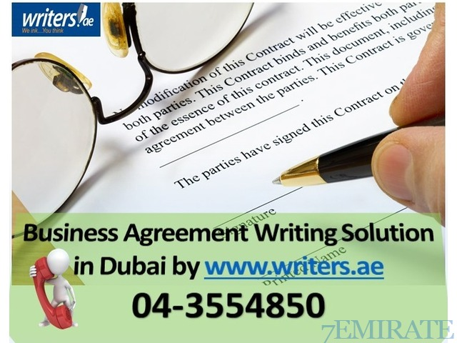 Agreement writing services