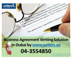 Exclusive Distribution Agreement writing services in Dubai