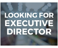 Urgently Required Executive Director in Abu Dhabi