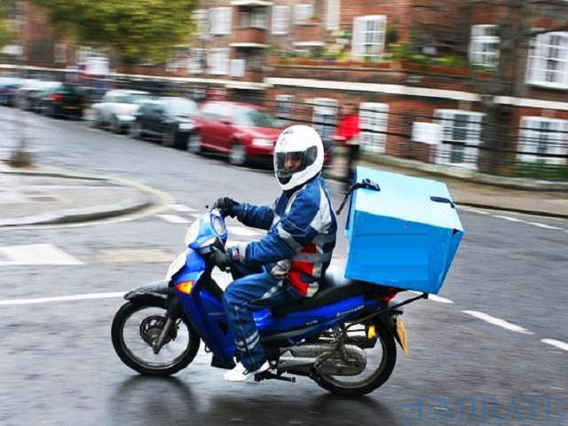 Motorbike Delivery Person Required in Abu Dhabi