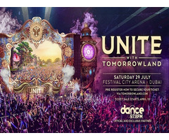 Tickets for Unite with Tomorrowland Concert in Dubai