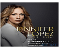 3 General Admission J Lo Tickets for Sale in Dubai
