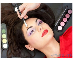 Professional make up and Beautician course offered in a ladies institute