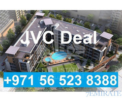JVC Best Deal Circle Mall Studio Near completion for Sale in Dubai