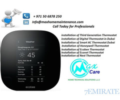 Nest Thermostat Installation in Dubai, Nest , ecobee Thermostat in Dubai