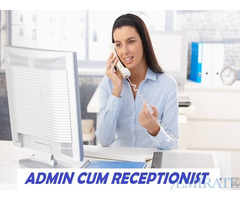 We are looking for a Admin cum Receptionist in Sharjah