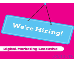 Digital Marketing Executive Required in Dubai