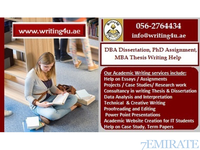 Thesis writing help in dubai