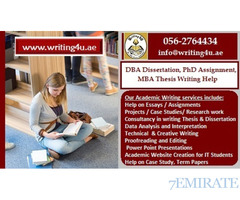 0562764434 DBA Dissertation, PhD Assignment, MBA Thesis Writing Help in UAE