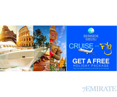 Cruise and Fly on service from Semsem International