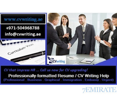 CV that impress HR +971504968788 Professionally-formatted CV Writing Help