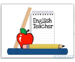 English Teacher With IGCSE Experience for School in Sharjah
