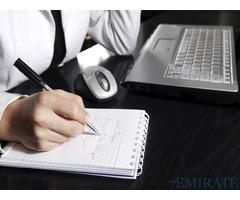 Urgent Requirement for Secretary on Sponsor Visa in Dubai