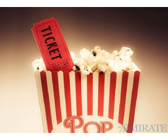 2 Tickets of Any Movie in any Theater in Abu Dhabi for Sale