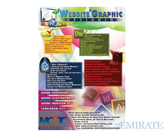Learn WEBSITE & GRAPHIC DESIGNING COURSES IN DUBAI  Call 0552239282