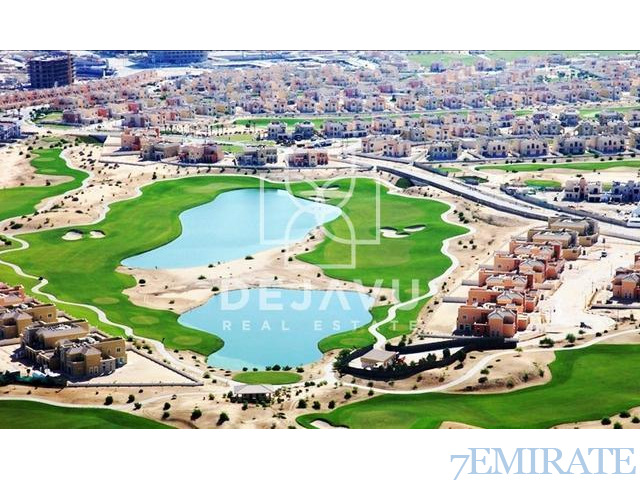 furnished Studio with Fully Golf Course View for Sale in Elite 10 Dubai