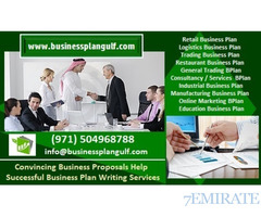 0504968788 Convincing Business Proposals/ Successful Business Plan Writing Help