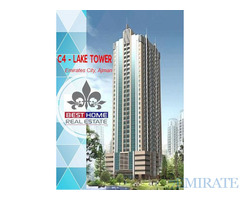 EMPTY 1 BHK FOR SALE IN C4-LAKE TOWER IN EMIRATES CITY AJMAN