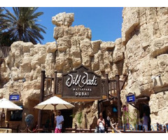 Wild wadi tickets for sale on discount in Dubai