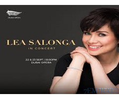 Tickets for Lea Salonga with meet & greet, Gold Row D Seat 7 Sept 22 Fri