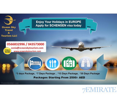 Get Europe Visit Visa in 3 days.. Even Rejected cases are also accepted.