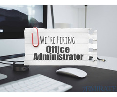 Office Administrator Required for Consultancy Company in Abu Dhabi