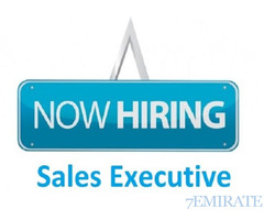 We are looking for a Sales Executive for Construction Company in Dubai