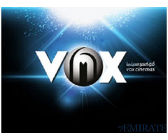 Vox Cinema ticket at discounted price for sale in Dubai