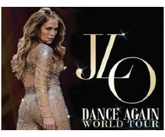 Tickets for J-Lo Concert for Sale in Dubai