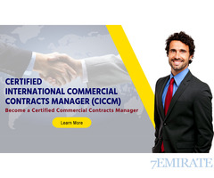 Certification to Become Commercial Contract Manager fujairah