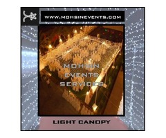 Wedding Light Decor by Mohsin Events Services