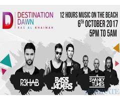 2017 Destination Dawn RAK Passes for Sale in Dubai
