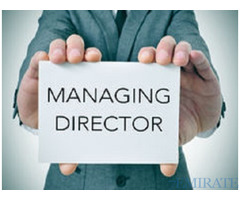 Managing Director for Medical Center in Dubai
