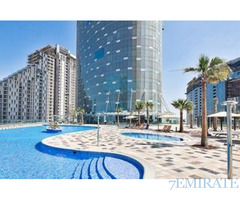 Big Sized 1BR+STUDY in Sun Tower for ONLY AED 4,939/MONTH